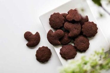 Bezlepkové kakaové sušienky