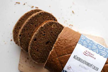 Nízkobielkovinový chlieb tmavý