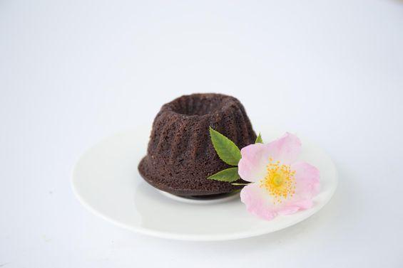 Bezlepková mini bábovka kakaová