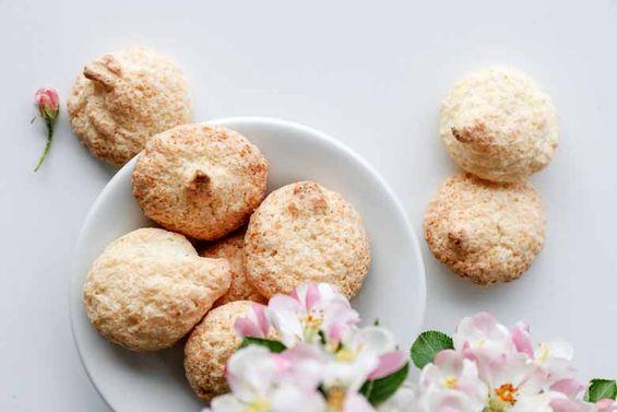 Bezlepkové kokosové pusinky