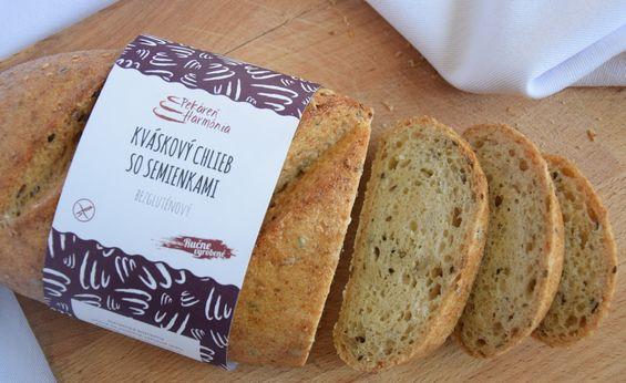 Kváskový chlieb so semienkami