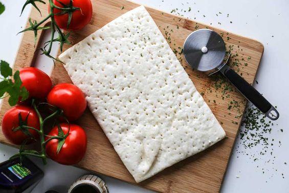 Nízkobielkovinový pizza korpus
