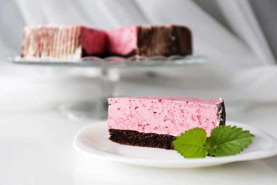 Smotanovo - čučoriedková torta