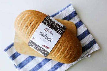 Bezlepkový tmavý chlieb